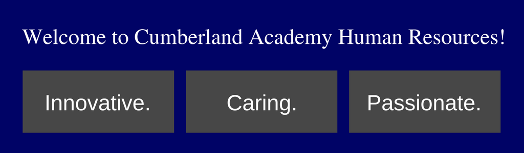 Job Openings Human Resources Cumberland Academy